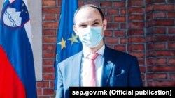 Словенечкиот министер за надворешни работи Анже Логар
