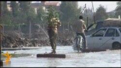 فيضانات في شوارع بغداد