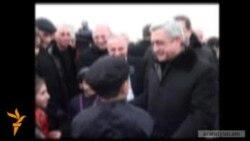 Սերժ Սարգսյան․ «Գյումրին պետք է դառնա առավել արագ զարգացող բնակավայրերից մեկը»