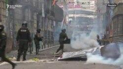 Sukob policije i Moralesovih pristalica u La Pazu