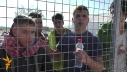 Macedonia is only allowing migrants from Syrians, Iraq, and Afghanistan to pass through