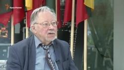 Витаутас Ландсбергис: Россия обыгрывает тех, кто согласен быть обыгранным (видео)