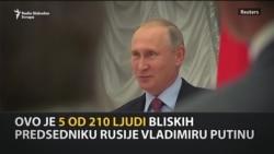 'Putinova lista' ruskih moćnika