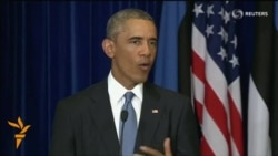 Obama Says Planned NATO Deployments Send A Clear Message