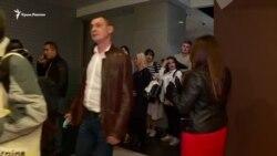 Nariman Aliyev ve Ahtem Seitablayev Kyivdeki «Evge» filminiñ taqdim merasiminde (video)