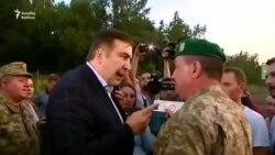 Mikheil Saakashvili Ukraynaya bu şəkildə keçdi