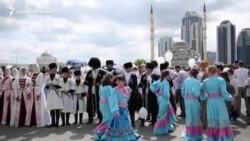 В Чечне отметили День России