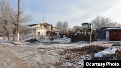 Поселок Рудник в Карагандинской области, или то, что от него осталось после переселения жителей.
