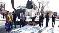 В Иркутске прошла акция памяти Бориса Немцова