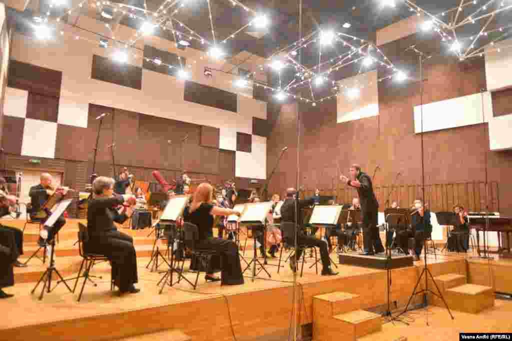 Sastav Beogradske filharmonije internacionalnog je karaktera.