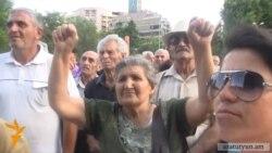 Ազատամարտիկները նույնպես պահանջում են Նավասարդյանի հրաժարականը