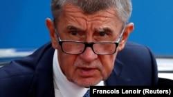 Чехия бош вазири Андрей Бабиш