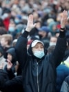 Учасники акції протесту 21 квітня 2021 року в Москві. На акціях протесту затримали загалом 1791 людину, повідомляє правозахисний портал «ОВД Инфо»