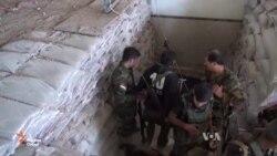 Дар Ироқ ҷангҷӯёни исломӣ тавассути тунелҳо фирор мекунанд