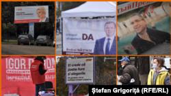 Campania electorală pe străzile din Chișinău