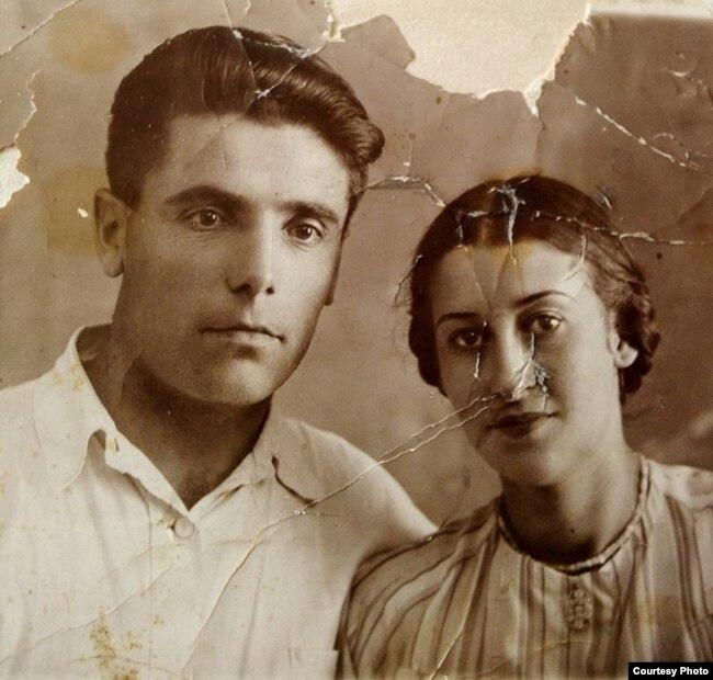 Шамиль Алядин и Фатьма Аметова. Из архива Лейли Алядиновой