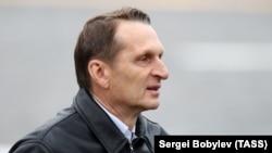Директорот на СВР Сергеј Наришкин