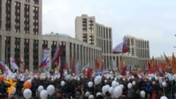 Russians Attend Mass Protests