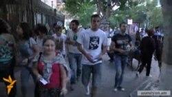 «Ո՛չ Թալանին» նախաձեռնությունն իրազեկման երթ անցկացրեց Երևանում