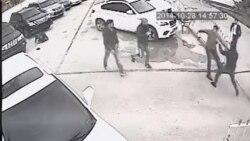 """Видео избиения начальника автостанции """"Дусти"""" города Душанбе"""