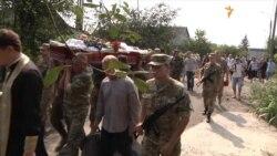 У Запоріжжі поховали загиблого у ДТП під Волновахою бійця