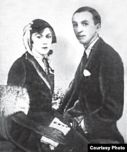 Ирина Одоевцева и Георгий Иванов