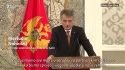 Nuhodžić i Radončić: Fokus na suzbijanju ilegalnih migracija