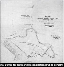 Regiunea unde se afla școala Marieval în cadrul rezervației Cowessess în regiunea Saskatchewan, Canada.
