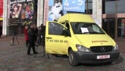 Волонтери вимагають спростити шлях автівок до військових (відео)