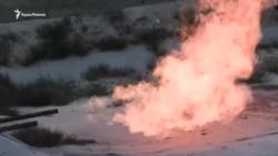 В Херсонской области сжигают излишки газа (видео)