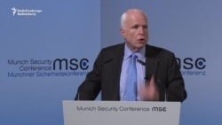 McCain Calls For Solidarity In Western Values