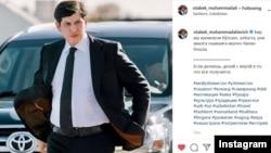 Младший зять президента Узбекистана Отабек Умаров. Фото из его страницы в Instagram'е.