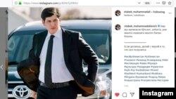 O'zbekiston prezidentning kenja kuyovi hamda uning xavfsizlik xizmati mulozimi Otabek Umarov - Instagram