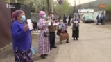 72-й день протеста перед китайским консульством и обвинения в «преступлении против человечности»