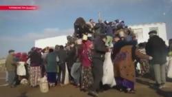 Почему люди давятся в очередях за отрубями в Туркменистане