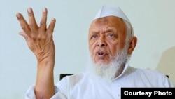 """""""Dor ul-ulum"""" oliy madrasasining 82 yoshli rektori Mavlono Sayyid Arshad Madaniy"""