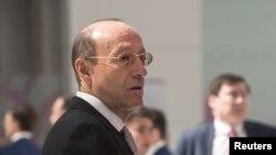 Акционер Eurasian Resources Group (ERG) Александр Машкевич на Астанинском экономическом форуме в Нур-Султане, Казахстан, 16 мая 2019 года