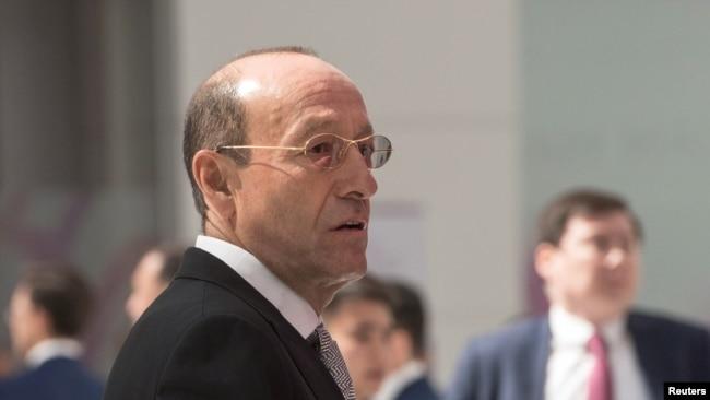 Акционер Eurasian Resources Group (ERG) Александр Машкевич на Астанинском экономическом форуме в Нур-Султане, Казахстан, 16 мая 2019 года.