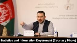 احمد جاوید رسولی رییس اداره احصائیه و معلومات