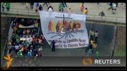 На святкування з участю папи у Бразилії зібралися три мільйони