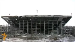 Reporters Tour Devastated Donetsk Airport