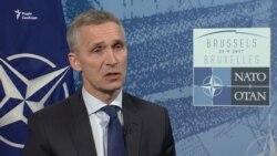 Столтенберґ: НАТО хоче мати тісніше партнерство з Україною (відео)