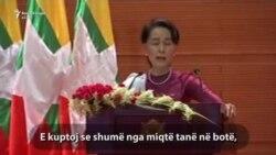 Suu Kyi dënon shkeljen e të drejtave të njeriut në Rakhine