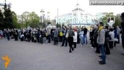 Луганчани на вулиці зібрали гроші для армії