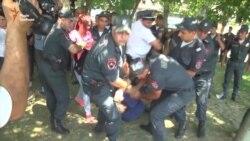 Поліція затримала прихильників опозиції в Єревані (відео)