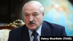 Lukashenka has faced protests since August.