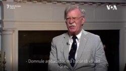 John Bolton, despre ambițiile nucleare ale unor țări