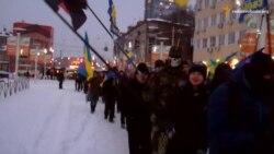 У Дніпропетровську ходою з фаєрами святкують день народження Бандери