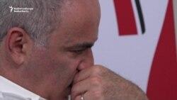 Chess Legend Kasparov Makes Brief Comeback