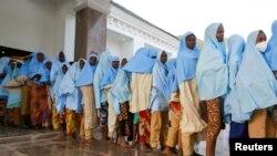 Oslobođene učenice u nigerijskoj državi Zamfara, 2. mart 2021.